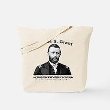 Grant: ArtWar Tote Bag