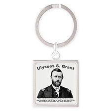 Grant: ArtWar Square Keychain