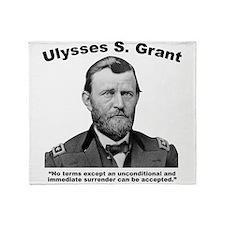 Grant: Unconditional Throw Blanket