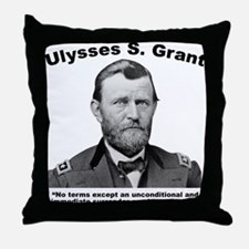 Grant: Unconditional Throw Pillow