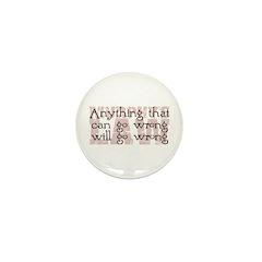 Murphy's Law II Mini Button (100 pack)