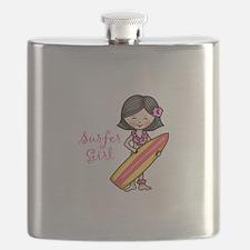 Surfer Girl Flask