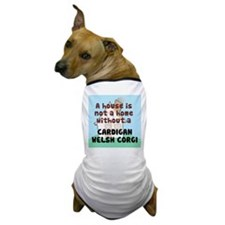 Cardigan Home Dog T-Shirt