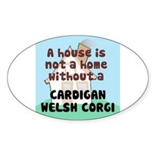 Cardigan Home Oval Decal