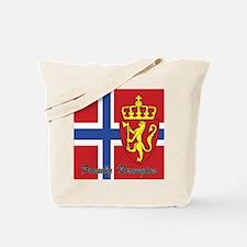 Proudly Norwegian Tote Bag