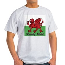 Proudly Welsh T-Shirt