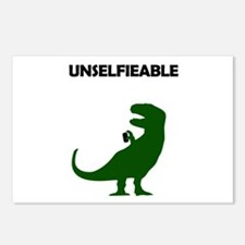 Unselfieable T-Rex Postcards (Package of 8)