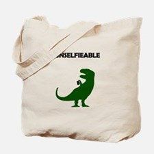 Unselfieable T-Rex Tote Bag
