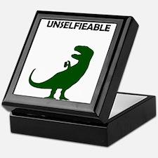 Unselfieable T-Rex Keepsake Box