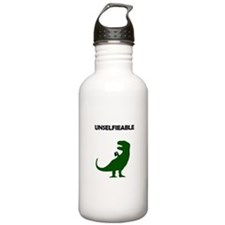 Unselfieable T-Rex Sports Water Bottle