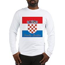 Proudly Croatian Long Sleeve T-Shirt