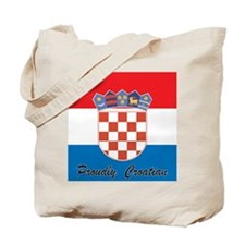 Proudly Croatian Tote Bag