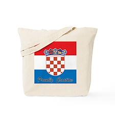 Proudly Croatian Tote Bag