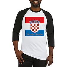 Proudly Croatian Baseball Jersey
