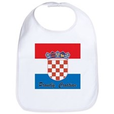 Proudly Croatian Bib