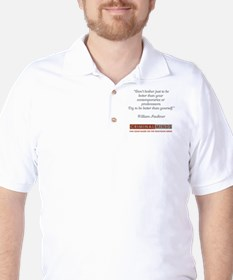 FAULKNER QUOTE Golf Shirt