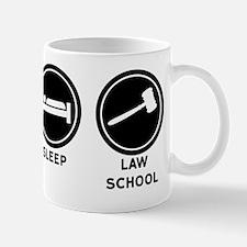 Eat Sleep Law School Mug