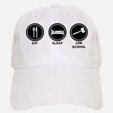 Eat Sleep Law School Baseball Baseball Cap