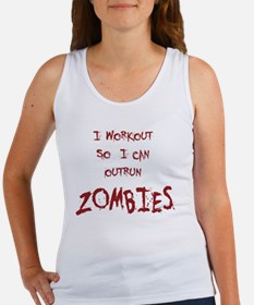 Outrun Zombies 1 Tank Top