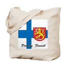 Proudly Finnish Tote Bag