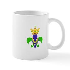 MARDI GRAS FLEUR DE LIS Mugs