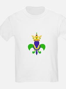 MARDI GRAS FLEUR DE LIS T-Shirt