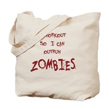 Outrun Zombies 1 Tote Bag
