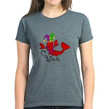 MARDI GRAS CAJUN CRAWFISH T-Shirt
