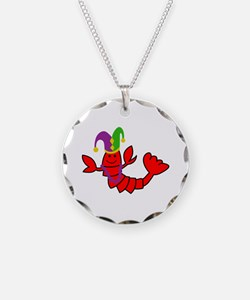 MARDI GRAS CRAWFISH Necklace