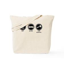 Eat Sleep Law School Tote Bag