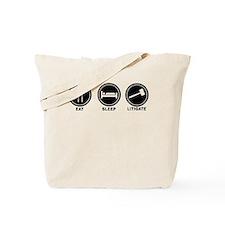 Eat Sleep Litigate Tote Bag