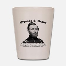 Grant: Rules Shot Glass