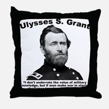 Grant: Rules Throw Pillow