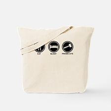Eat Sleep Prosecute Tote Bag