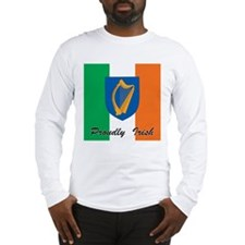 Proudly Irish Long Sleeve T-Shirt