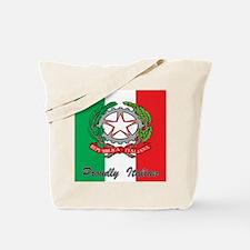Proudly Italian Tote Bag