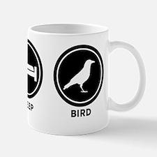 Eat Sleep Bird Mug