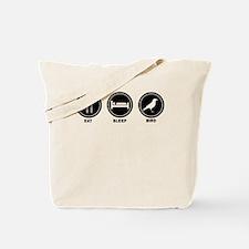 Eat Sleep Bird Tote Bag
