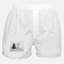 The Mind That Is Still Boxer Shorts