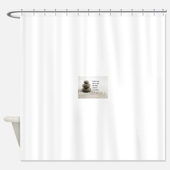 The Mind That Is Still Shower Curtain
