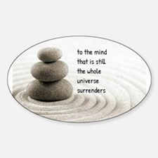 The Mind That Is Still Decal