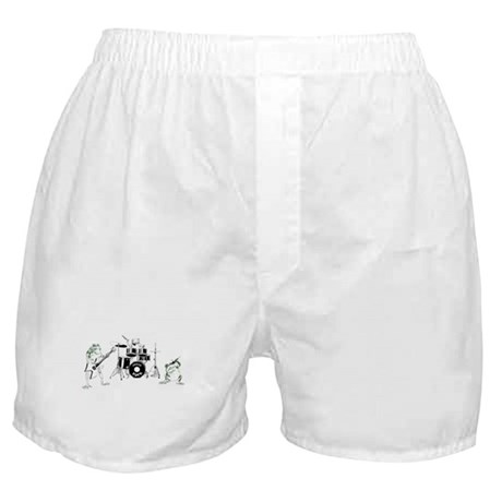 Frogs Rock Boxer Shorts
