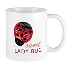 Sweet Lady Bug Mugs