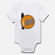 Old Skool Santa Crus Surfer Infant Bodysuit