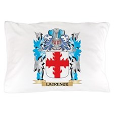 Laurence Coat of Arms - Family Crest Pillow Case