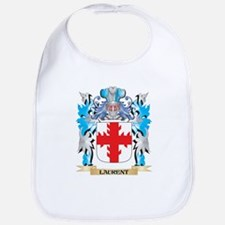 Laurent Coat of Arms - Family Crest Bib