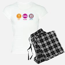 Eat Sleep Quilt Pajamas