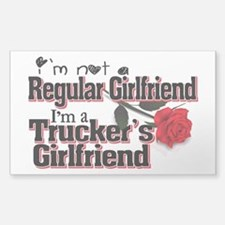 Not a Regular Girlfriend - Tr Sticker (Rectangle)