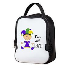 IM ALL DAT GIRL Neoprene Lunch Bag