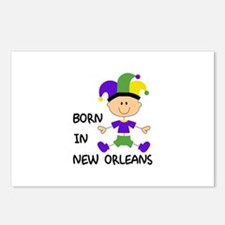 BORN IN NEW ORLEANS Postcards (Package of 8)